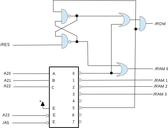 motorola 68000 wiring diagrams